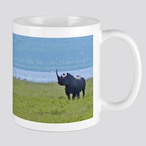 nakuru black rhino kenya collection Mug