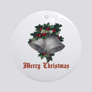 Christmas Bell Ornament (Round)