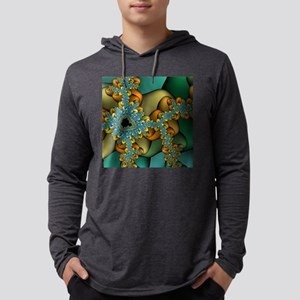 GS-greengoldfracTS-1 Mens Hooded Shirt