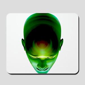 Green Head Mousepad