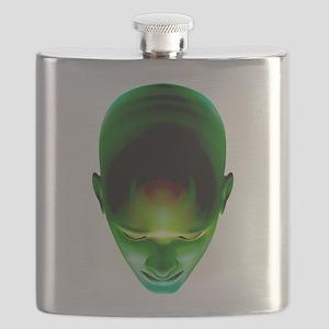 Green Head Flask