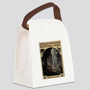 YELLOWSTONE5 Canvas Lunch Bag