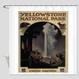 YELLOWSTONE5 Shower Curtain
