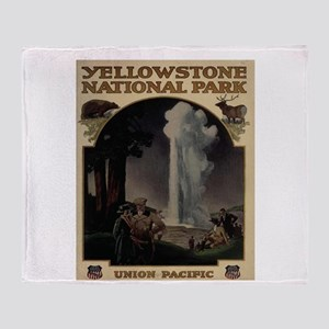 YELLOWSTONE5 Throw Blanket