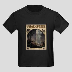 YELLOWSTONE5 Kids Dark T-Shirt