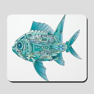 Robot Fish Mousepad