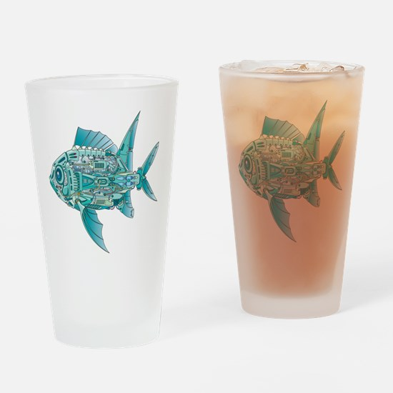 Robot Fish Drinking Glass