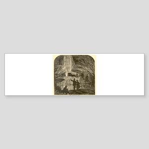 mammoth cave Sticker (Bumper)