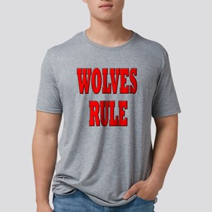 wolves-rule Mens Tri-blend T-Shirt