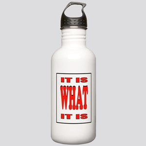 WHAT IS IT? Stainless Water Bottle 1.0L