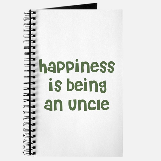 Happiness is being an Uncle Journal