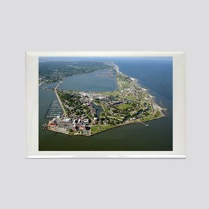 FORT MONROE NATIONAL MONUMONT Rectangle Magnet