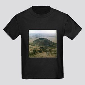 CAPULIN VOLCANO national,park Kids Dark T-Shirt