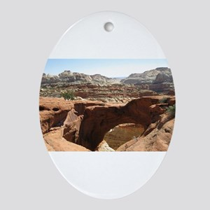 capitol reef Ornament (Oval)