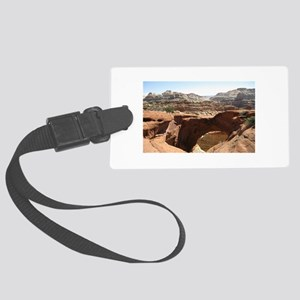 capitol reef Large Luggage Tag