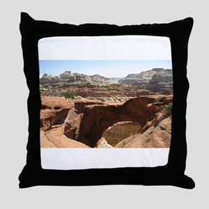 capitol reef Throw Pillow