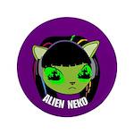 "Alien Neko Ep.2 3.5"" Button"