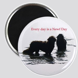 Every day is a Newf Day Magnet