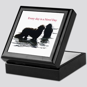 Every day is a Newf Day Keepsake Box