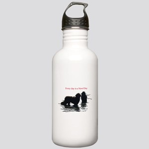 Every day is a Newf Day Stainless Water Bottle 1.0