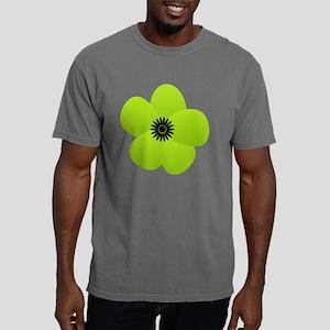 Cute Green Flower Mens Comfort Colors Shirt