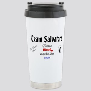Team Salvatore Stainless Steel Travel Mug