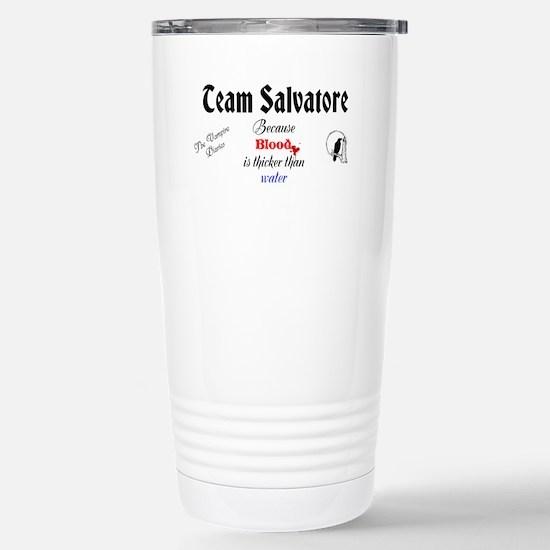 Team Salvatore Stainless Steel Travel Mug