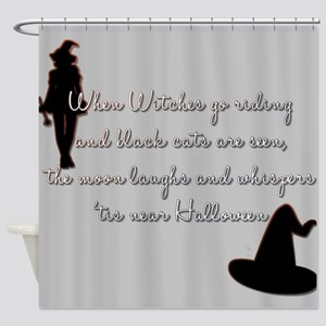 Tis near Halloween Shower Curtain
