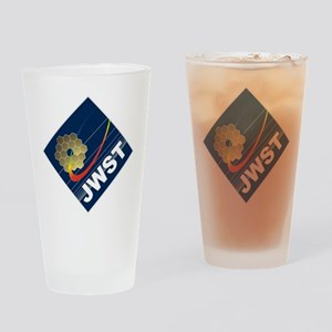 James Webb ESA Logo Drinking Glass