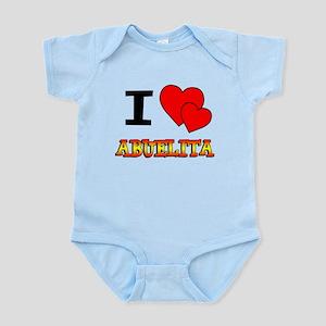 I Love Abuelita Infant Bodysuit