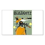 Rendez-Vous Biarritz Sticker (Rectangle 50 pk)