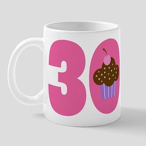 30th Birthday Cupcake Mug