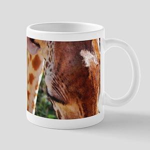 rothschild giraffe closeup kenya collection Mug