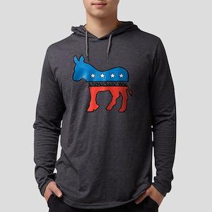 DEMOCRATIC VIEW Mens Hooded Shirt