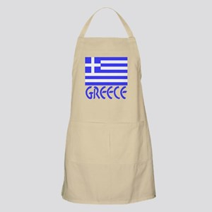 Greece Flag Name Apron