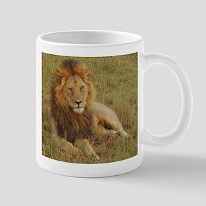 male lion kenya collection Mug