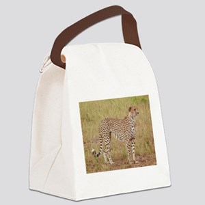 cheetah brother kenya collection Canvas Lunch Bag