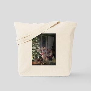 Labrador Holiday Tote Bag