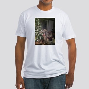 Labrador Holiday Fitted T-Shirt