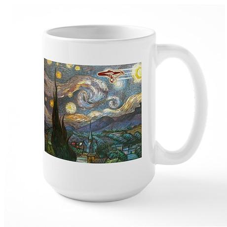 Boldly Going Large Mug