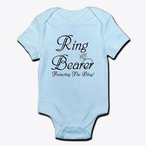 Ring Bearer Protecting The Bing Infant Bodysuit