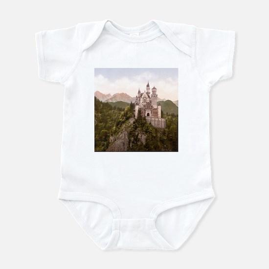 Vintage Neuschwanstein Castle Infant Bodysuit