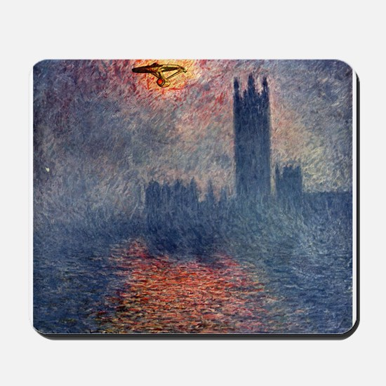 Boldly Going... Mousepad