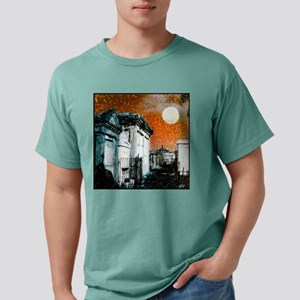 box sureal cemetary Mens Comfort Colors Shirt