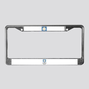 LUCKY BABY  License Plate Frame