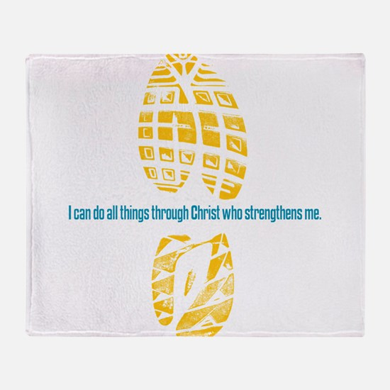 413 running back.png Throw Blanket