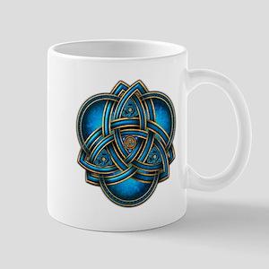 Blue Celtic Triquetra Mug