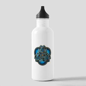 Blue Celtic Triquetra Stainless Water Bottle 1.0L