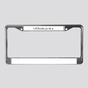 I will pin License Plate Frame