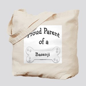 Proud Parent of a Basenji Tote Bag